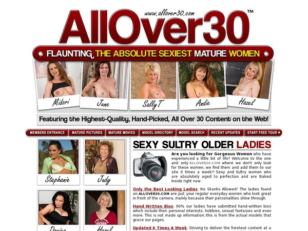 Allover30.com With Sliiing
