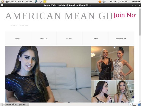Americanmeangirls.com Free Members
